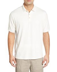 Tommy Bahama | White Pebble Shore Original Fit Polo Shirt for Men | Lyst