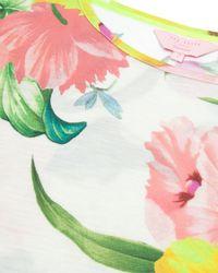 Ted Baker - Multicolor Flower At High Tea Print Tee - Lyst