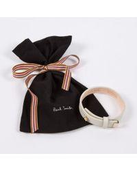 Paul Smith - Black Women'S Aran Leather Bracelet - Lyst