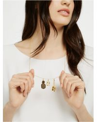 BaubleBar - Metallic People Stylewatch Charm Necklace - Lyst