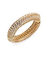 Saks Fifth Avenue - Metallic Openwork Sparkle Bracelet - Lyst
