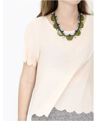 BaubleBar - Green Chartreuse Deco Strand - Lyst