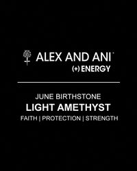 ALEX AND ANI - Yellow June Birthstone Bangle - Lyst