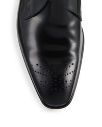 Paul Smith - Black Wren Patent Leather Monk-Strap Shoes for Men - Lyst