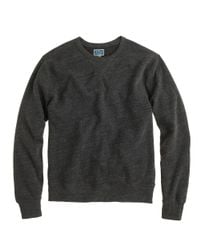 J.Crew | Gray Lightweight Sweatshirt for Men | Lyst