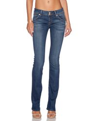 Hudson Jeans - Blue Beth Baby Bootcut Stretch-Denim Jeans - Lyst