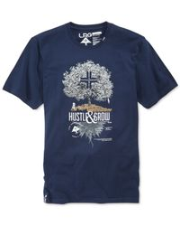LRG | Blue Big And Tall Cash Crop T-shirt for Men | Lyst