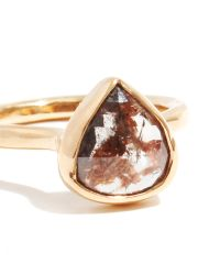 Melissa Joy Manning   Metallic Rustic Rosecut Diamond Ring   Lyst