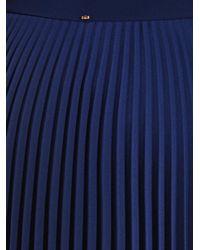 Sportmax Blue Adunco Skirt