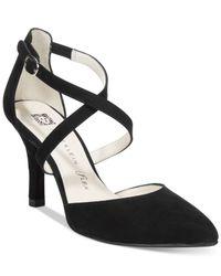 Anne Klein | Black Fion Dress Pumps | Lyst