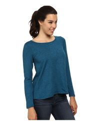 Patagonia | Blue Back Wrap Top | Lyst