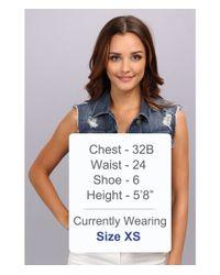 PAIGE Blue Heidi Oversized Jacket