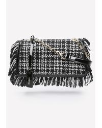 Bebe - Black Tatiana Crossbody Bag - Lyst
