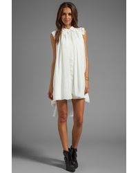 Cameo - Summertime Sadness Dress in White - Lyst