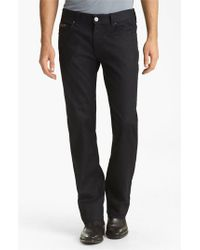 Armani | Blue Slim Straight Leg Jeans for Men | Lyst