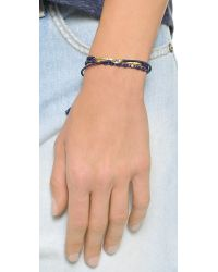 Tai - Blue Evil Eye Bracelet Set - Lyst