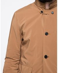 Still By Hand Natural Jacket In Camel for men