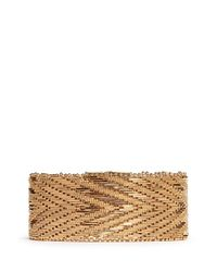 Givenchy - Metallic Chevron Metal Chain Bracelet - Lyst