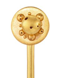 Paula Mendoza - Metallic Gold Plated Four Way Convertible Earrings - Lyst