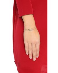 Dogeared - Metallic Healing Gem Pyrite Bracelet - Lyst