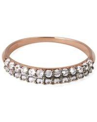 Katie Rowland | Metallic Women'S Zelle Enrapture 18 Carat Half Eternity Ring | Lyst