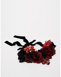 ASOS - Multicolor Mixed Flower Hair Garland - Lyst