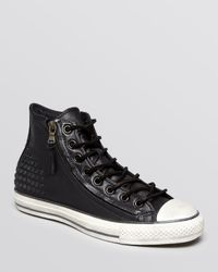 Converse Black Chuck Taylor All Star Double Zip High Top Sneakers for men