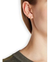 Maria Black - Metallic Klaxon Twirl Gold-plated Earrings - Lyst
