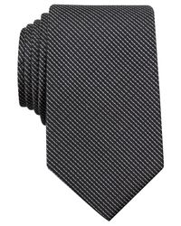 Perry Ellis | Black Carlson Mini Tie for Men | Lyst