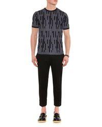 Jil Sander Black Carl Cropped Stretch-Cotton Trousers for men