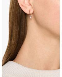Eddie Borgo | Metallic Gemstone Cone Hoop Earrings | Lyst
