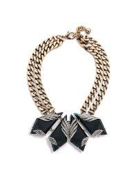 Lulu Frost Blue Reflection Necklace