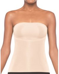 Spanx Natural Trust Your Thinstincts Strapless Top
