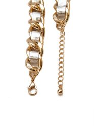 Forever 21   Metallic Mixed Metal Chain Necklace   Lyst