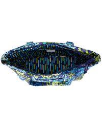 Vera Bradley | Blue Small Quilted Duffel Bag | Lyst