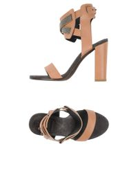 Brunello Cucinelli | Brown Sandals | Lyst