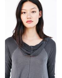 Truly Madly Deeply - Black Ava Hooded Top - Lyst