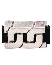 Philippe Audibert | Metallic 'dean' Leather Bracelet | Lyst
