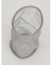 Christian Koban | Gray Cocoon Woven Bracelet | Lyst