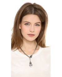 Elizabeth Cole | Metallic Phineas Necklace | Lyst