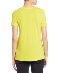 424 Fifth | Yellow Short-sleeve Tee | Lyst