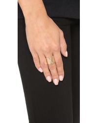 Vita Fede | Pink Inverso Crystal Ring | Lyst