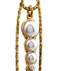 Lulu Frost - Metallic Kinship Pearl And Pin Earrings - Lyst