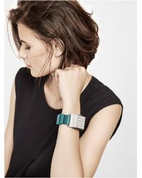 BaubleBar | Metallic Disco Bracelet & Up Move By Jawbone Duo - Blue | Lyst