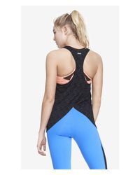 Express Exp Core Fly Away Muscle Tank - Black