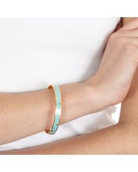 Astley Clarke - Blue Duck Egg Star Shower Bangle - Lyst