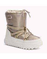 Tommy Hilfiger Metallic Laced Boot