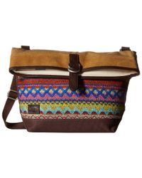 TOMS | Purple Caldera Sweater Felt Messenger | Lyst