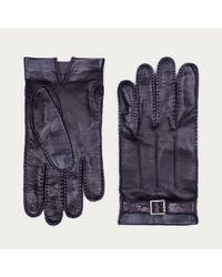 Bally Black Lamb Nappa Gloves for men