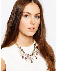 ALDO - Multicolor Gleliwet Spring Stone Collar Necklace - Lyst